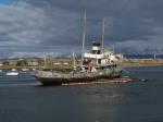 shipwreck in ushuaia bay