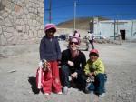 with he children in sn antonio de los cobres