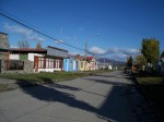 typical street - puerto natales